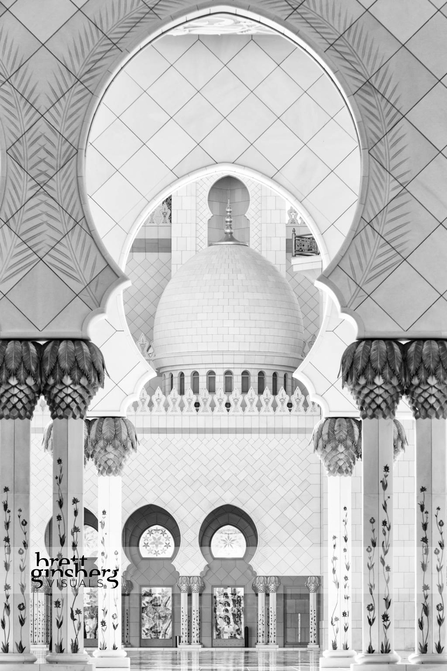 abu dhabi grand mosque architecture arch