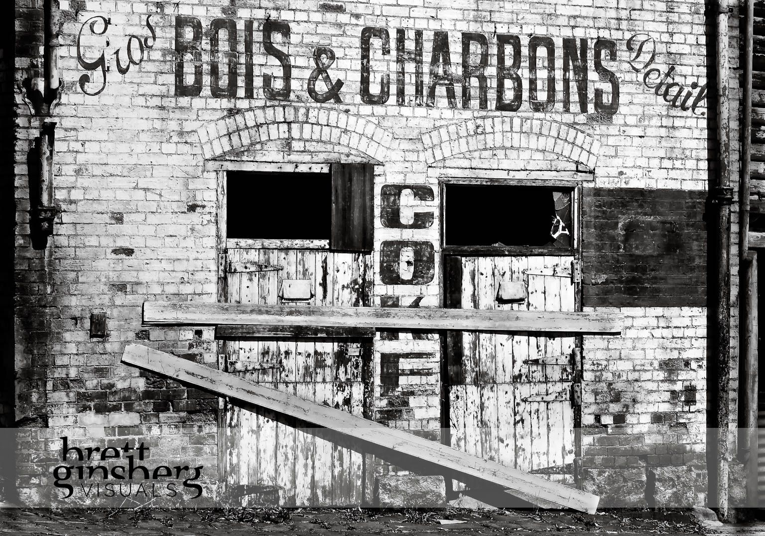 Bois & Charbons building next to The Abbotsford Convent Melbourne, Australia
