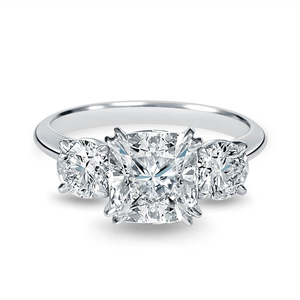 jewellery photography of princess cut diamond engagement ring