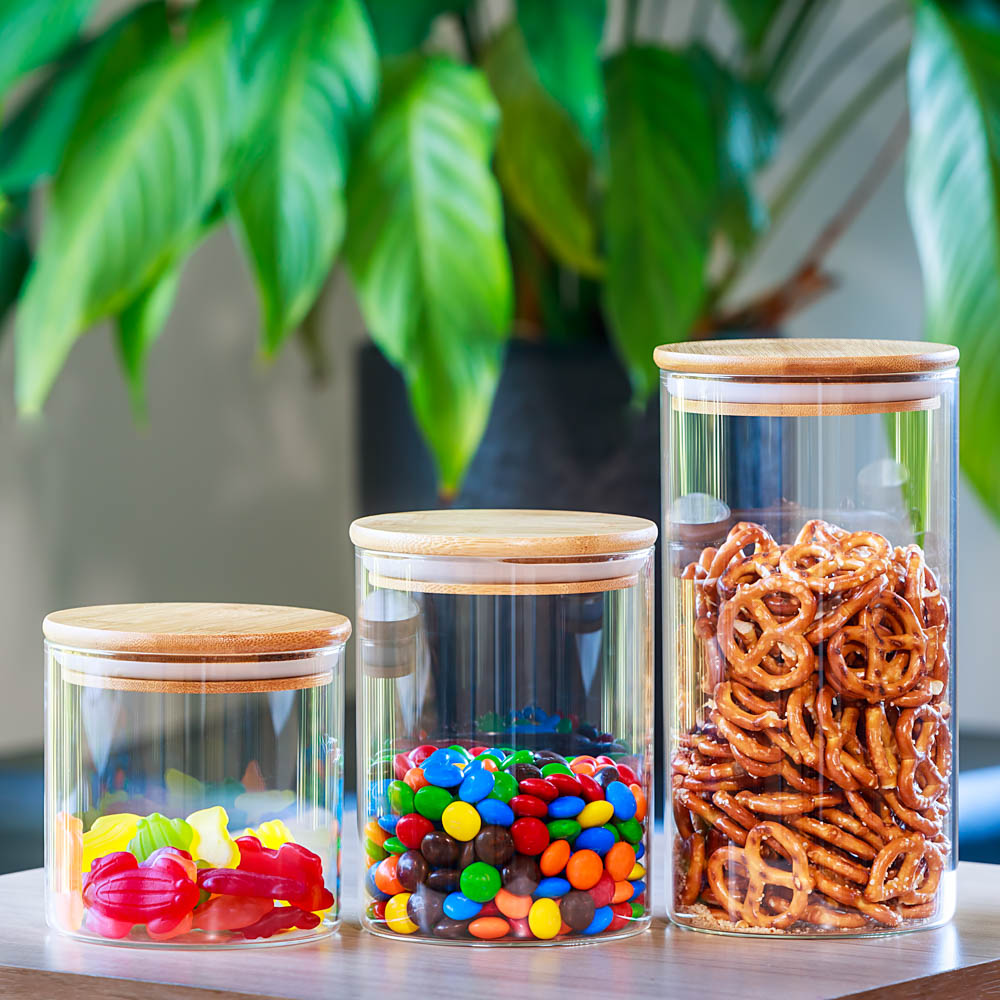 amazon photography example of lifestyle shot with glass jars containing lollies in melbourne