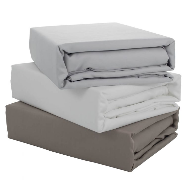 amazon photography example of product shot with taup grey and white bed sheets in melbourne